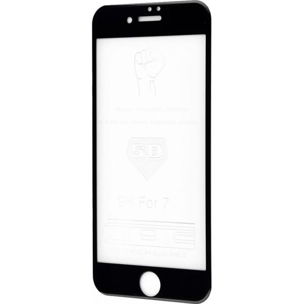 Curved Glass на iPhone 7 5D Black