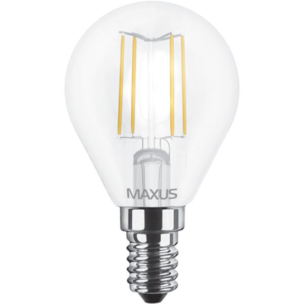 Купить Лампочки, Лампа филаментая MAXUS G45 FM 4W 220V E14 (1-LED-548-01)