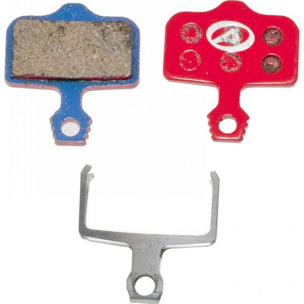 Купить Тормозные колодки для велосипеда, тормозные дисковые колодки ABS-65 Avid Elixir, полимер, красные (24504214), Author