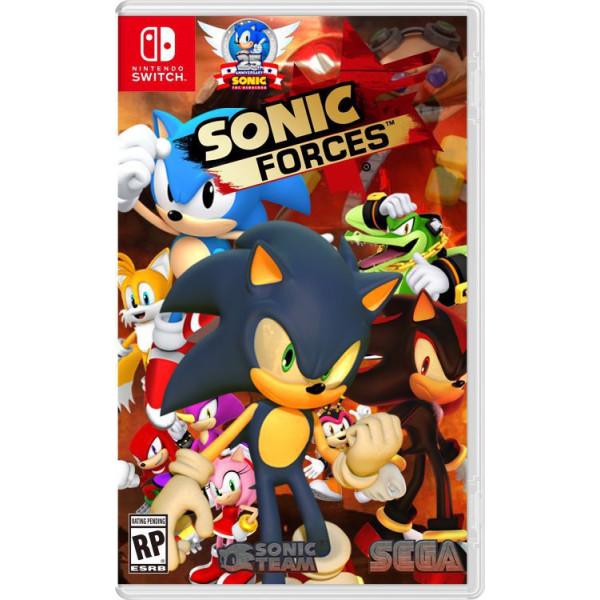 Купить Игры, для Nintendo Switch Sonic Forces, SEGA