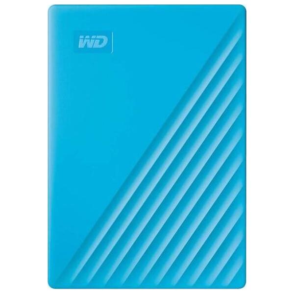 Купить Внешние жесткие диски, Western Digital My Passport 4TB WDBPKJ0040BBL-WESN 2.5 USB 3.0 Blue