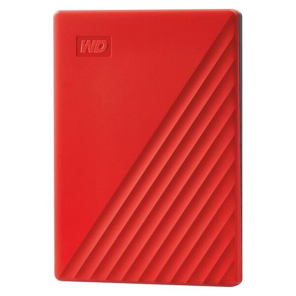 Купить Внешние жесткие диски, Western Digital My Passport 4TB WDBPKJ0040BRD-WESN 2.5 USB 3.0 Red