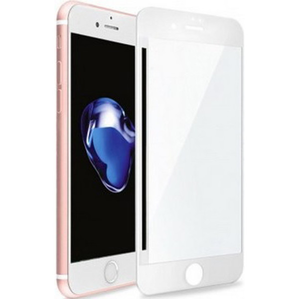 Curved Glass на iPhone 7 5D White