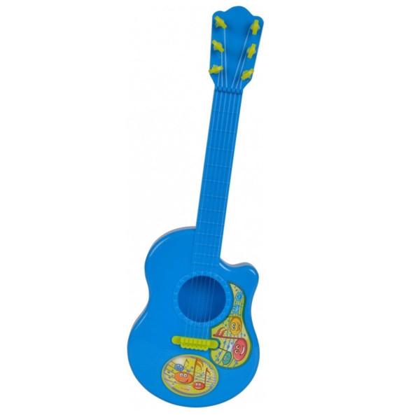 Купить Детские музыкальные инструменты, Гитара Simba Веселые ноты (6834046)