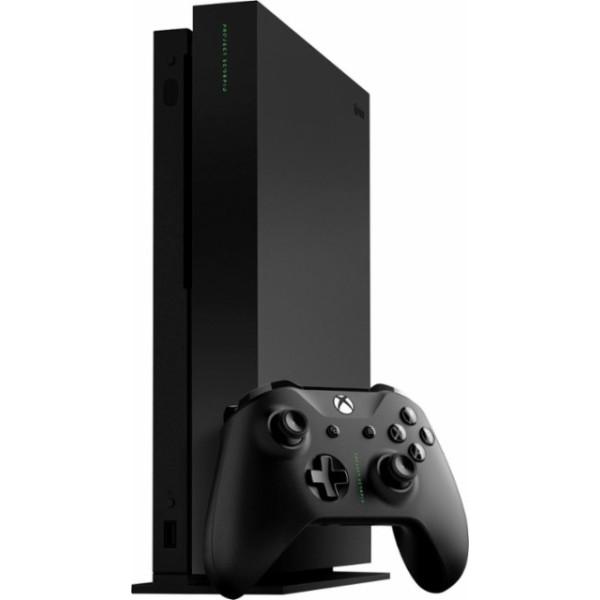 Купить Игровые консоли, Microsoft Xbox One X Black 1TB + Дополнительный джойстик