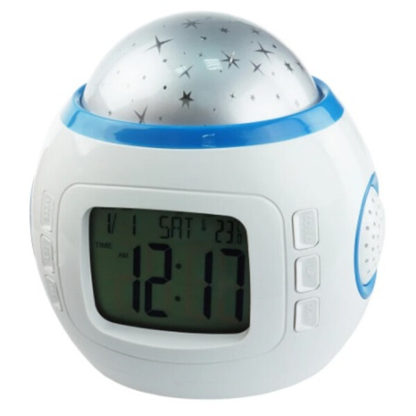 Supretto / Музыкальные часы с проектором звездного неба Wellamart (Арт. C245)