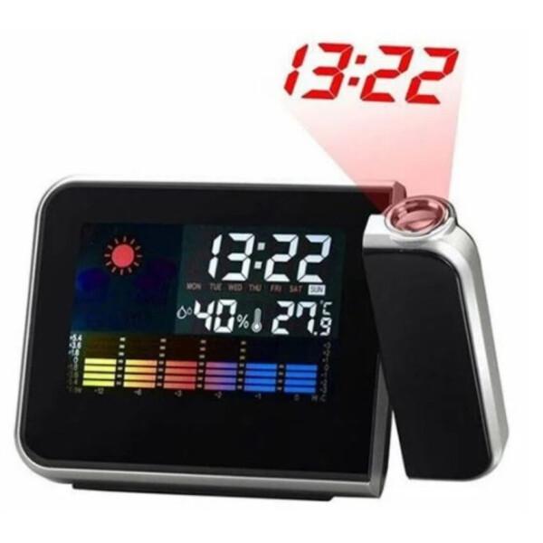 Supretto / Цифровой будильник с проектором Wellamart (Арт. 5214)