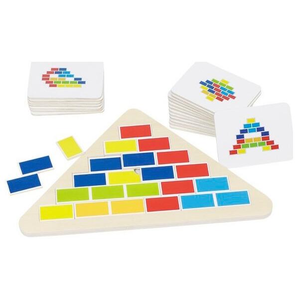 Купить Настольные игры, Игра-головоломка goki Треугольник 57924G