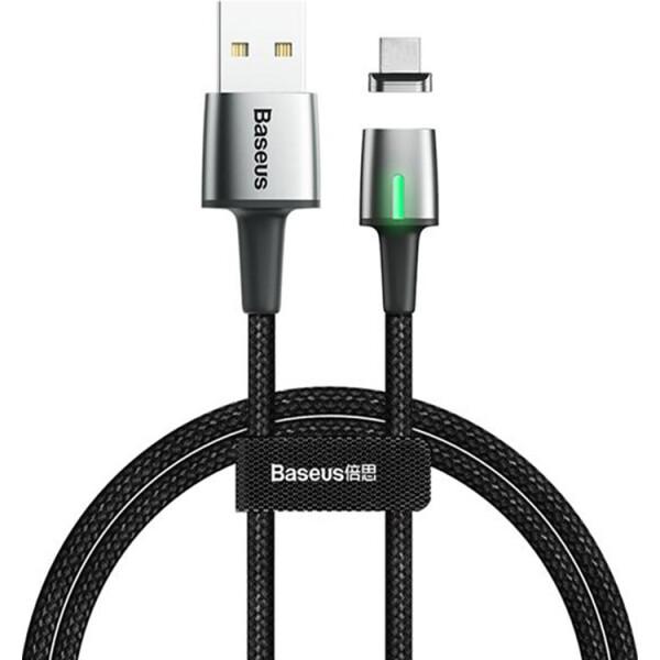 Купить Кабели и переходники, Baseus Magnetic USB Lightning 1м черный