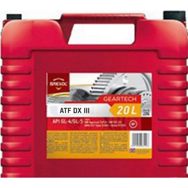 Купить Трансмиссионные масла, Brexol ATF DX III 20 л (48391050986)