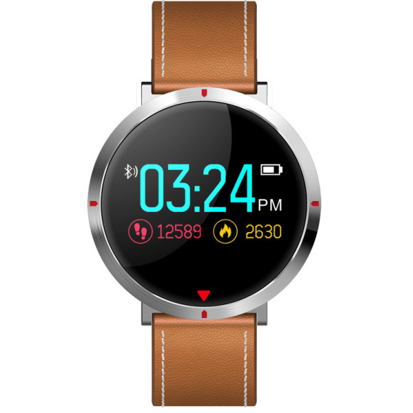 ▷ Смарт-годинник ASUS ZenWatch 3 WI503Q Leather dark brown - купити ... 032b1f5e563e3