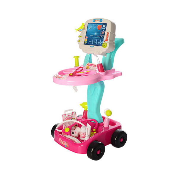 Купить Игровые наборы, Тележка доктора Bambi 660-45 Pink