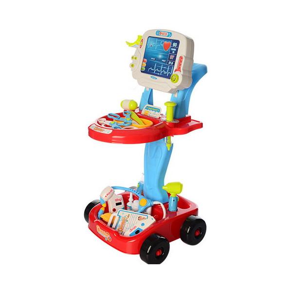 Купить Игровые наборы, Тележка доктора Bambi 660-46 Red
