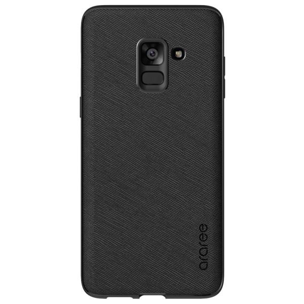 Купить Чехлы для телефонов, Araree Silicon cover Black для Samsung A8 Plus 2018 (GP-A730KDCPBAA)