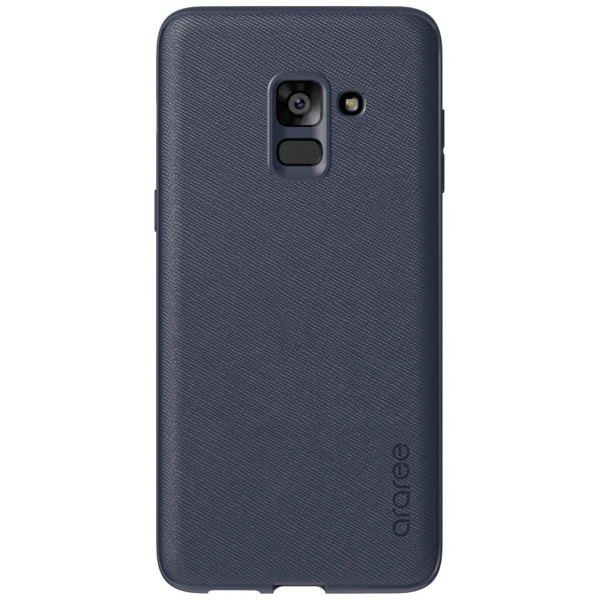 Купить Чехлы для телефонов, Araree Silicon cover Midnight Blue для Samsung A8 Plus 2018 (GP-A730KDCPBAB)