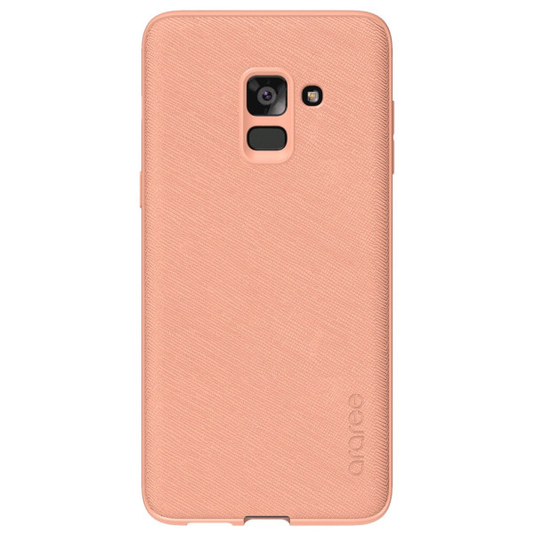 Купить Чехлы для телефонов, Araree Silicon cover Flamingo для Samsung A8 Plus 2018 (GP-A730KDCPBAC)