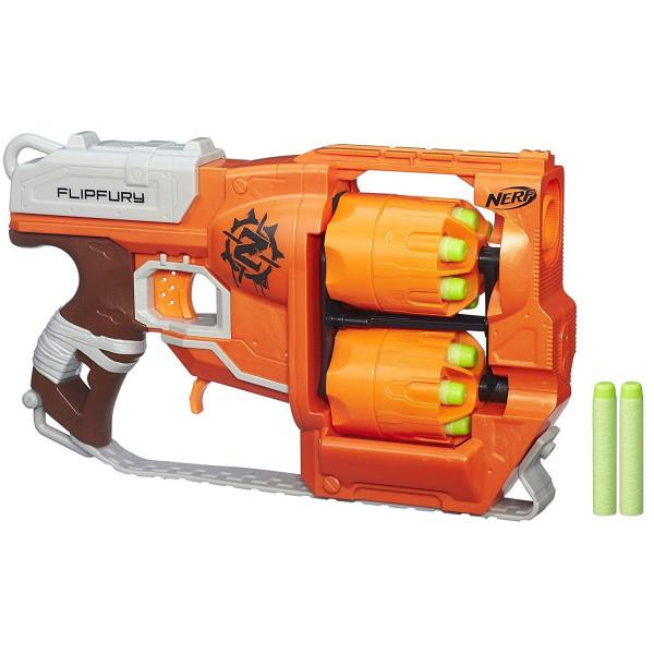 Купить Оружие игрушечное, Бластер Hasbro Nerf Zombie Strike FlipFury (A9603)