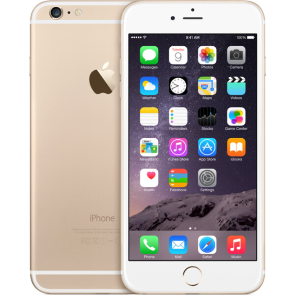 Apple iPhone 6s 64GB Gold Seller Refurbished (MKQQ2)
