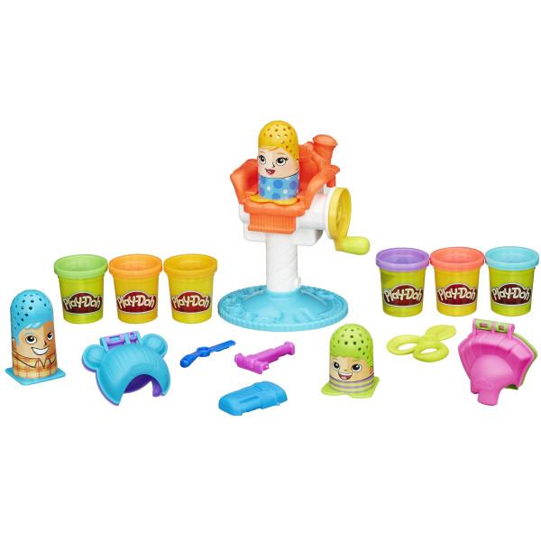 Купить Наборы для творчества и рукоделия, HASBRO Play-Doh Игровой набор Сумасшедшие прически (B1155)