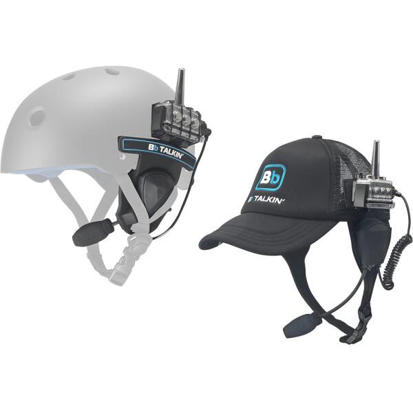 Комплект раций водозащищенный интерком BBTALKIN' Advance Kite / Wind Surf с кепкой