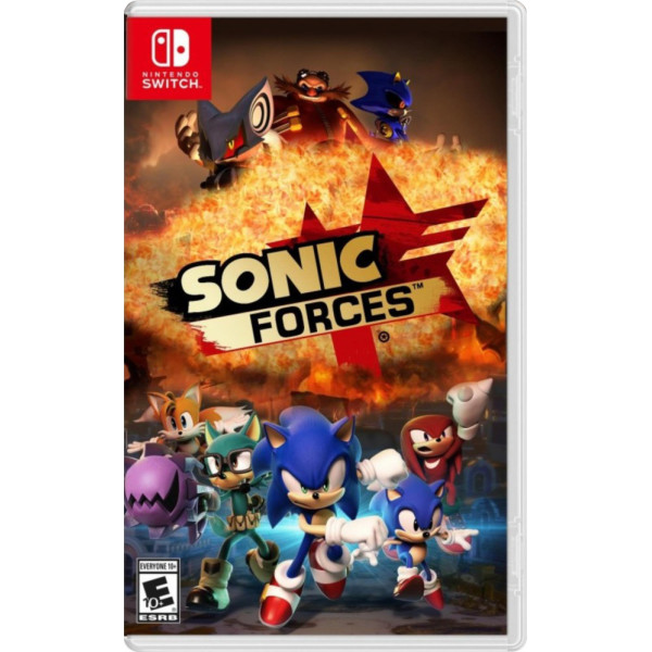 Игры, для Nintendo Switch Sonic Forces (русская версия), Sonic Team  - купить со скидкой