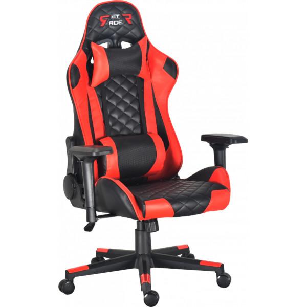 Купить Кресла, GT Racer X-2563-1LP Black/Red