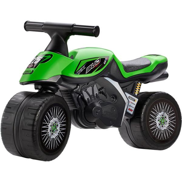 Купить Беговелы, Бeговел MOTO KAWASAKI KX BUD RACING Falk 402KX (цвет зеленый)