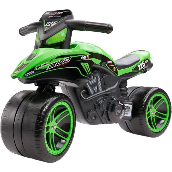 Купить Беговелы, Бeговел MOTO KAWASAKI KX BUD RACING Falk 502KX (цвет зеленый)