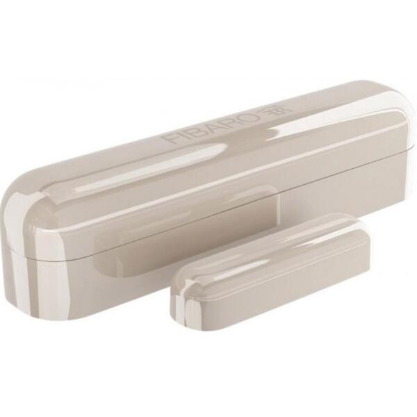 Купить Датчики для дома, Умный датчик открытия двери / окна Fibaro Door / Window Sensor 2, Z-Wave, 3V ER14250, бежевый