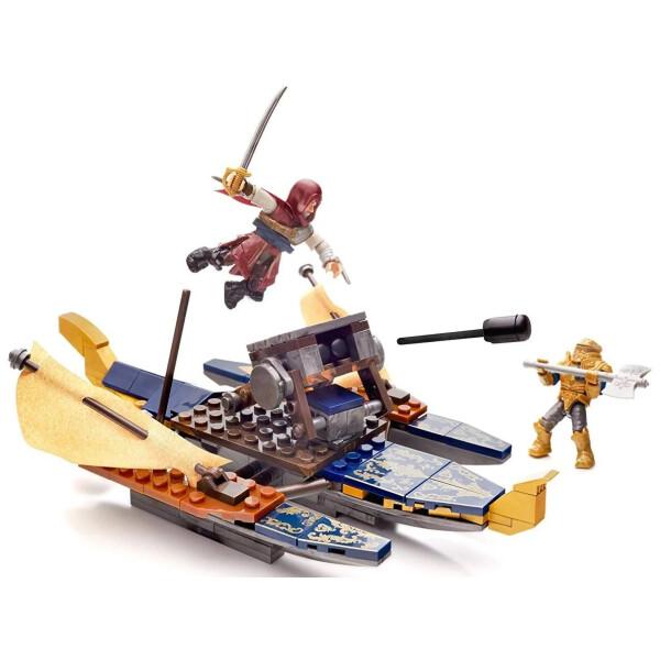 Купить Конструкторы, Игровой конструктор Mega Bloks Морские баталии Кредо ассасина Assassins Creed - War Boat Building Set