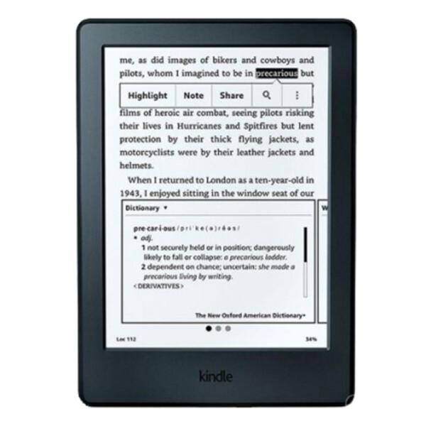 Купить Электронные книги, Amazon KIndle Paperwhite 6 (7 Gen 2016) Black Over-Stock