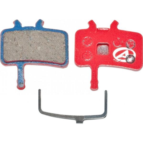 Купить Тормозные колодки для велосипеда, тормозные дисковые колодки ABS-61 Avid Juicy, полимер, красные (24504210), Author