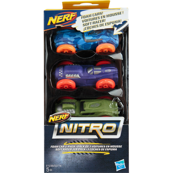 Набор машинок для бластера Hasbro Nerf Nitro (C0774-E1236)