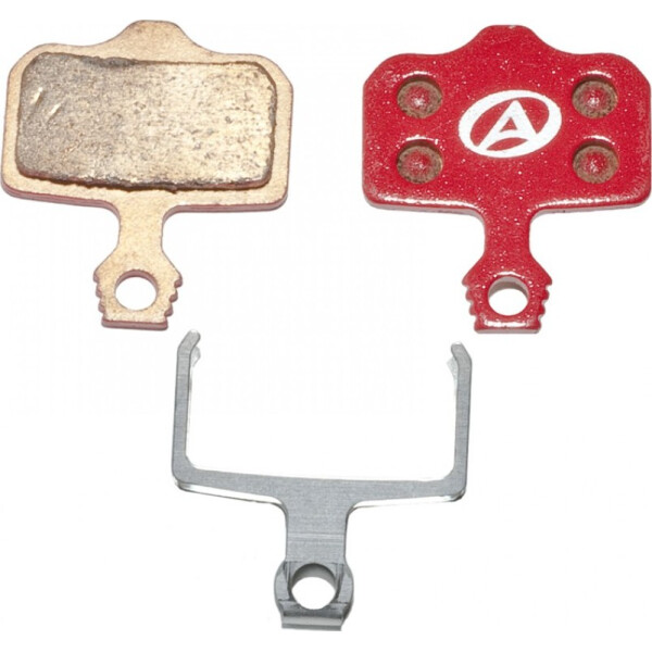 Купить Тормозные колодки для велосипеда, тормозные дисковые колодки ABS-65S Avid Elixir, металл, красные (24504260), Author