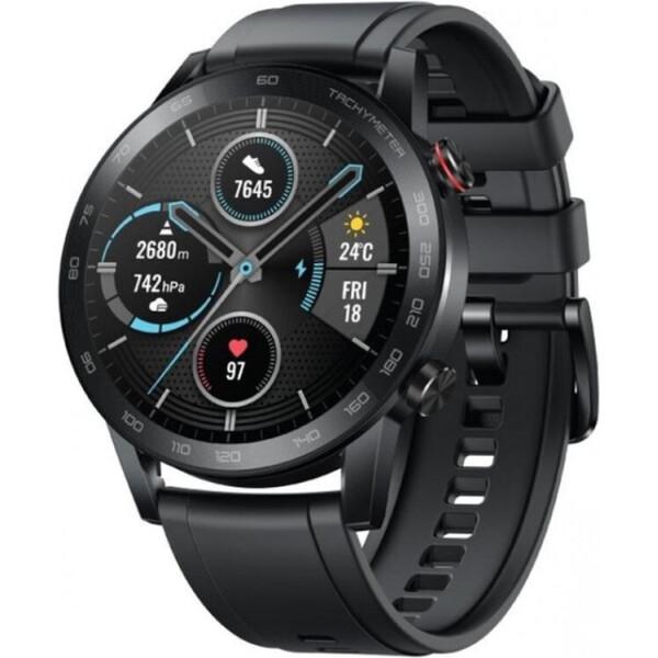 Купить Смарт-часы, Honor MagicWatch 2 46mm Charcoal Black (MNS-B19)