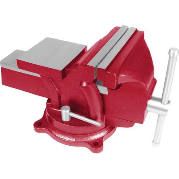 Купить Принадлежности к инструменту, Тиски слесарные поворотные 100 мм Intertool HT-0051