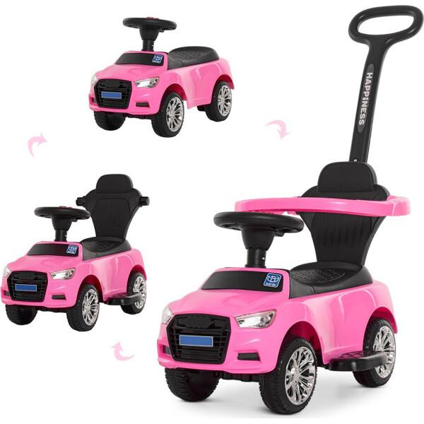 Купить Детские качалки, каталки, Каталка-толокар Bambi Audi M 3503A(MP3)-8 Pink (M 3503A(MP3))