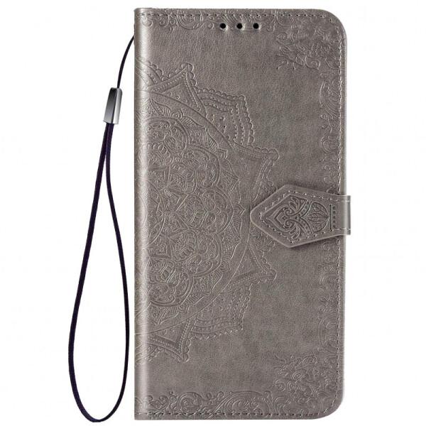 Купить Чехлы для телефонов, Кожаный чехол (книжка) Art Case с визитницей для Samsung Galaxy M31 (Серый) (895432), Epik