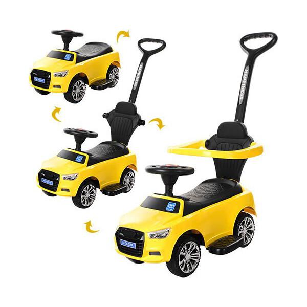 Купить Детские качалки, каталки, Каталка-толокар Bambi Audi M 3503A-6 Yellow (M 3503A)