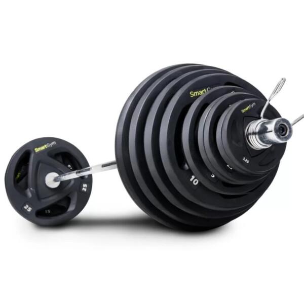 Купить Штанги, Обрезиненная штанга SmartGym 85 кг 05308, Hop-Sport