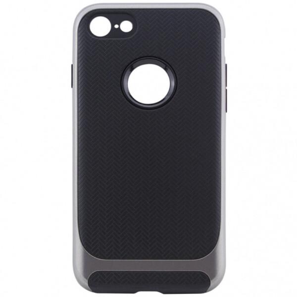 Купить Чехлы для телефонов, TPU+PC чехол Deen Royce Series для Apple iPhone 8 (4.7) (Черный / Серый) (547400)