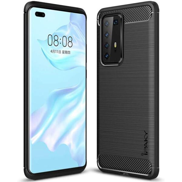 Купить Чехлы для телефонов, TPU чехол iPaky Slim Series для Huawei P40 Pro Черный (127361)