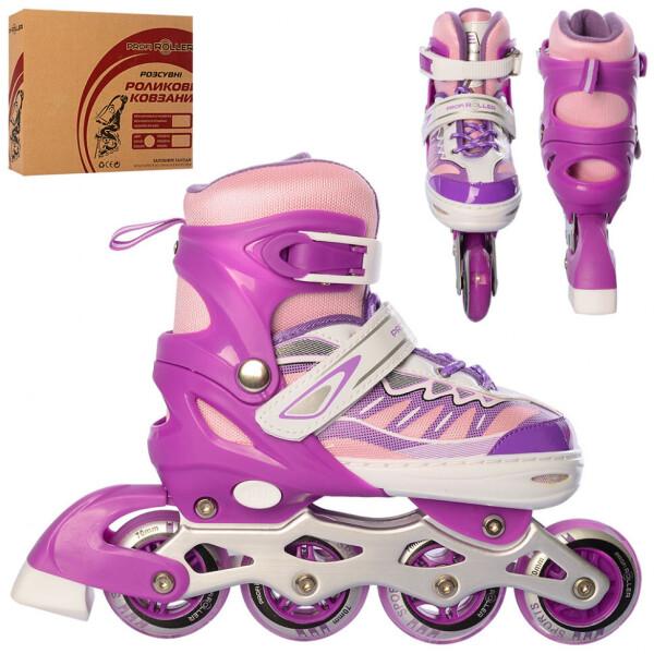 Купить Роликовые коньки, Детские роликовые коньки Profi A 4122-M-V(35-38)