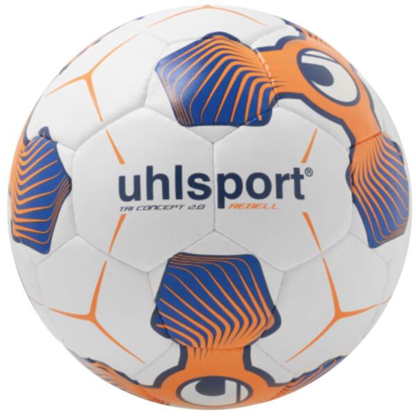 Мяч футбольный Uhlsport TRI CONCEPT 2.0 REBELL (для игры на асфальте и щебне)