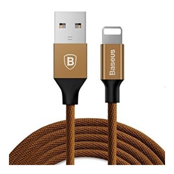 Купить Кабели и переходники, USB кабель Baseus Lightning Yiven 1.5A (3m) coffee, xCase