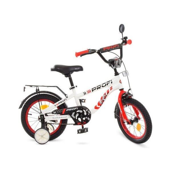 Детский велосипед PROFI 14д. T14154 Space, бело-красный