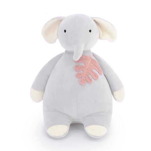 Купить Мягкие игрушки, Мягкая велюровая игрушка для ребенка Metoys Серый слон 45 см (51183)