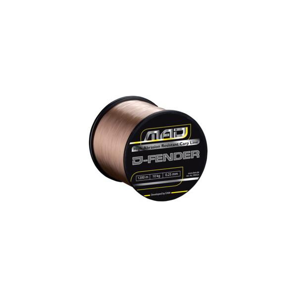 Купить Лески и шнуры, Леска DAM MAD D-Fender Carp Line 850м 0, 38мм 11, 4кг (brown) (3905038)
