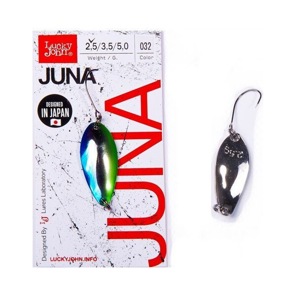 Купить Блесна, колебалка LJ Area Trout Game JUNA 2.5г / 032 (LJJU25-032), Lucky John
