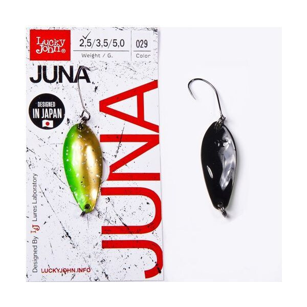 Купить Блесна, колебалка LJ Area Trout Game JUNA 2.5г / 029 (LJJU25-029), Lucky John
